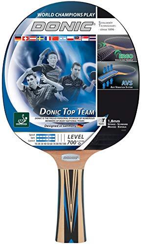 DONIC-Schildkröt raqueta de tenis de mesa equipo con tecnología p.i.i, 700 superior y agarre ergonómico, Madera/Beige, talla única, 754197