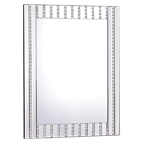 Apontus 23.5'' x 31.5'' Rectangle Wall Vanity Mirror with Resin Diamond by Apontus