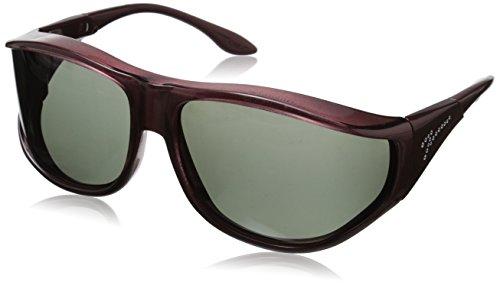 Vistana Polarized Jeweled Fitover X-Large Sunglasses
