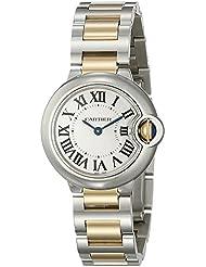 Cartier Womens W69007Z3 Ballon Bleu Stainless Steel and 18K Gold Watch