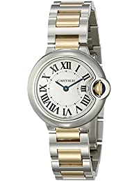 Women's W69007Z3 Ballon Bleu Stainless Steel and 18K Gold Watch