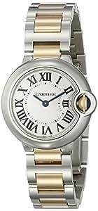 Cartier Women's W69007Z3 Ballon Bleu Stainless Steel and 18K Gold Watch