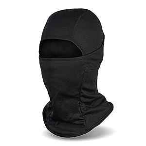 Balaclava Ski Mask, Winter Hat Windproof Face Mask for Men and Women, Black