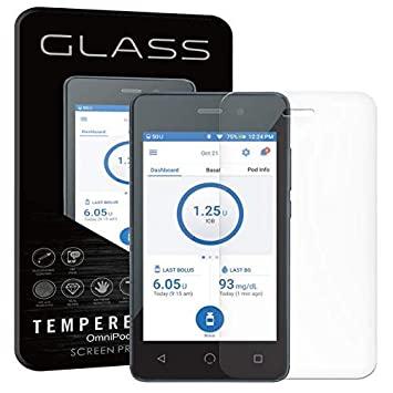 Tempered Glass Screen Protector for Omnipod Dash™ PDM (1)