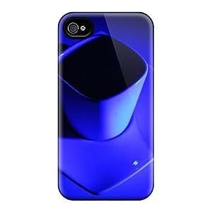 Premium Tpu Caffeine Blues Cover Skin For Iphone 4/4s Kimberly Kurzendoerfer