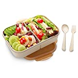 Bento Lunch Box for Kids & Adults, SIPU Leakproof and Shockproof Lunch...