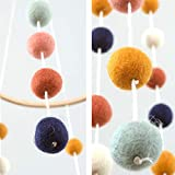 Glaciart One Felt Balls Baby Mobile - Colored Felt