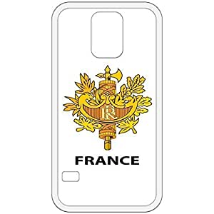 France - Coat Of Arms Flag Emblem White Samsung Galaxy S5 Cell Phone Case - Cover