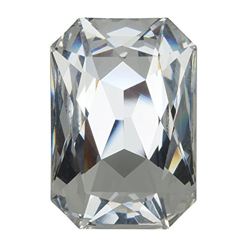 (Swarovski Crystal, #4627 Octagon Fancy Stone 27x18.5mm, 1 Piece, Crystal F)