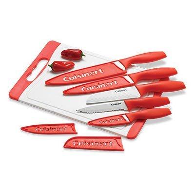 Cuisinart 11 Piece Knife Set and Non Slip Cutting Board 5 Kn