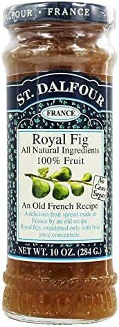 St. Dalfour - Fruit Spread 100% Natural Jam Royal Fig - 10 oz.
