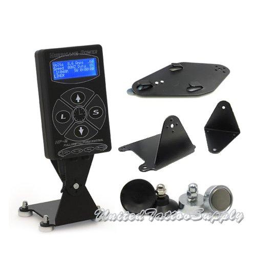 Hp2 hurricane digital dual tattoo power supply unit black for Best tattoo power supply