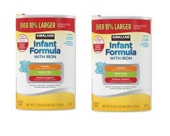 Amazon.com: Kirkland Signature bebé Formula con hierro para ...