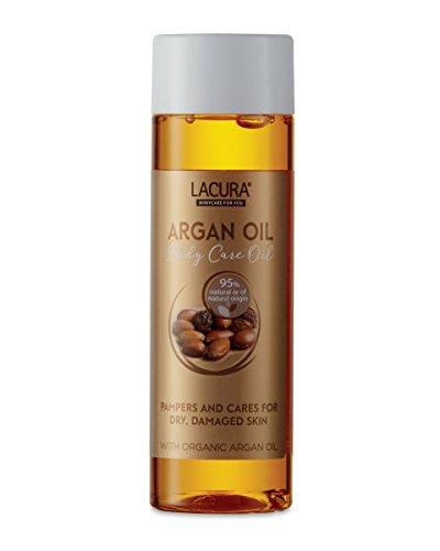 Aldi Lacura aceite de argán para cuerpo 150 ml para piel seca, Dañado