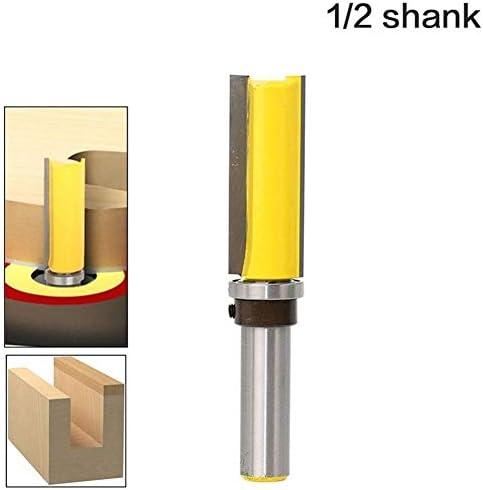 """Shank Router Bit 1pc Vorlage Router, Flush Trimmbit, mit 1/2"""" Schaft zur Holzschneider, Zapfenschneider for Holzbearbeitungswerkzeuge Fräswerkzeug bit"""