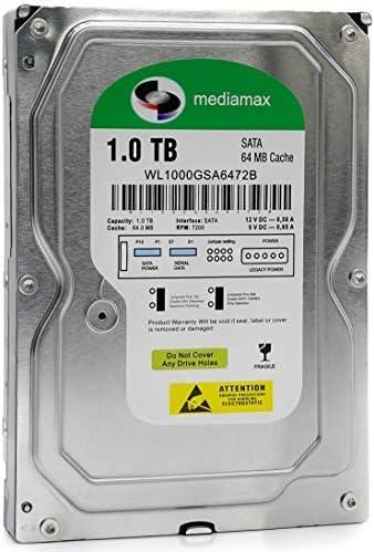 Mediamax Interne Festplatte 1tb 3 5 Zoll Sata Iii 6 0 Computer Zubehör