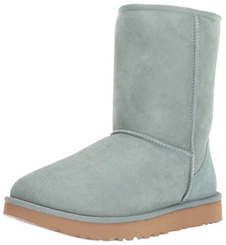 Ugg Shorts - UGG Women's W Classic Short II Fashion Boot, sea Green, 9 M US
