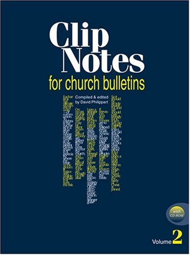 Clip Notes for Church Bulletins with CDROM