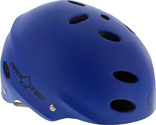 (ProTec Ace CPSC SXP Liner Matte Metallic Blue Skate Helmet - (Certified) - X-Large / 23.6