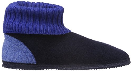 Adults' Slippers 6 Blue Low Dk blau Top Unisex 548 Blue Kramsach Giesswein wXpq7155
