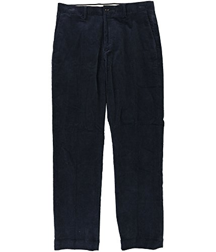 retch Casual Corduroy Pants Blue 36x34 ()