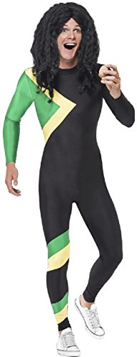 Mens Jamaican Bobsleigh 90s 1990s TV Book Film Movie Stag Night Fancy Dress Costume Outfit Stag Do M L (Medium) ()
