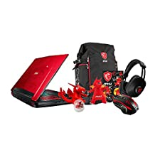 "MSI GT72VR DOMINATOR PRO DRAGON-638 17.3"" Gaming Laptop - i7-7700HQ, GTX 1070 8GB, 16GB DDR4, 128GB SSD + 1TB HDD, Windows 10 + Gaming Bundle"