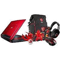 MSI GT72VR DOMINATOR PRO DRAGON-638 17.3 Gaming Laptop - i7-7700HQ, GTX 1070 8GB, 16GB DDR4, 128GB SSD + 1TB HDD, Windows 10 + Gaming Bundle