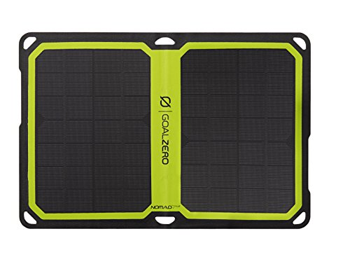 Goal Zero Nomad Solar Panel made our list of unique camping gifts for men which are some of the most cool camping gifts for special occasions and the CampingForFoodies hand selected best camping gifts for him are awesome for the rest of the family too!