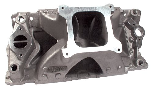 Brodix Cylinder Heads HV1000 High Velocity Intake Manifold with 4150 Flange for Small Block ()