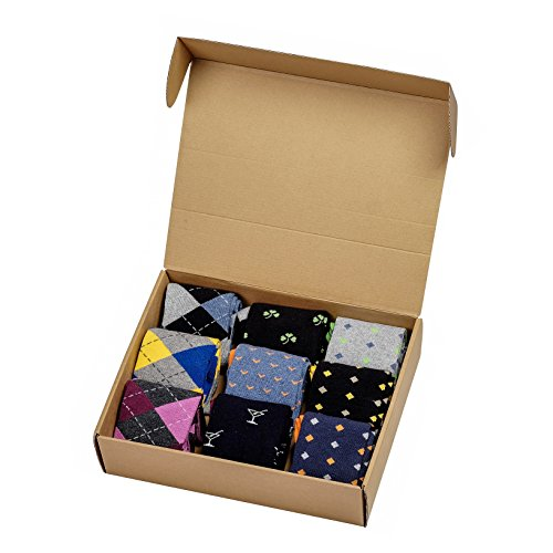 PH Over the Calf Socks Makeover Pack (9-Pair) (Stacked) (Mens Over Calf The Dress Socks)