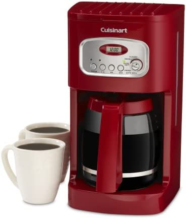 Cuisinart DCC-1100 12-cup cafetera programable rosso: Amazon.es: Hogar