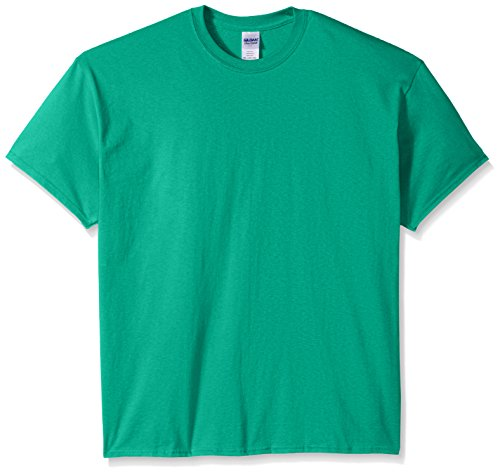 Green Mens Tee - Gildan Men's Ultra Cotton Tee, Kelly Green, XXX-Large