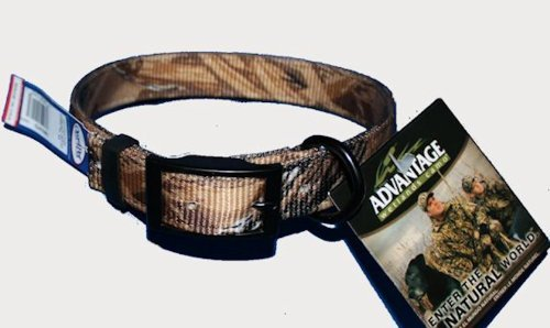 Sunglo Collar Reflective (OmniPet SunGlo Dee in Front Dog Collar, 1 x 25, Advantage Wetlands Camo)