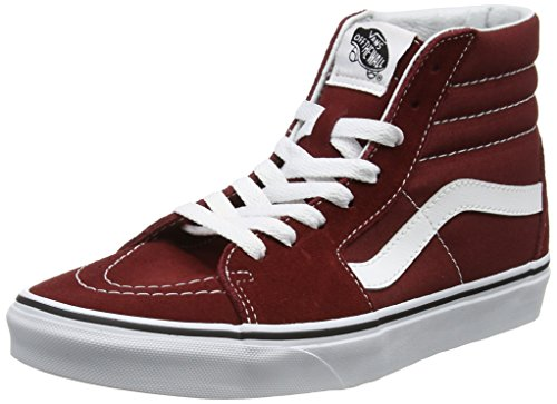 Madder Hi Adulto Unisex Vans Sk8 Rosso Scarpe Running White Brown True P4Aq0