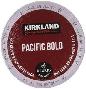 Kirkland Pacific Coffee K Cups Count product image