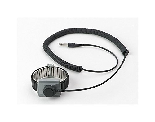 3M(TM) Dual Conductor Metal Wrist Strap for Monitors (Premium Performance), 2386, Large by SCS