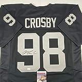 Autographed/Signed Maxx Crosby Las Vegas Oakland