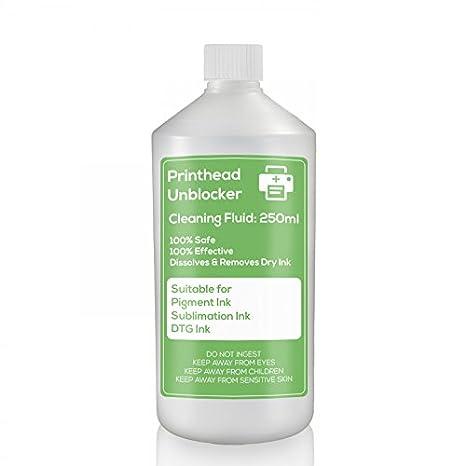 DTG cabezal de impresión líquido de limpieza 250 ML limpia y ...