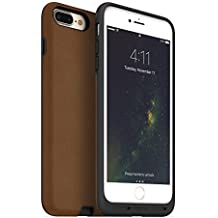 mophie charge force case - Made for iPhone 7 Plus - Works with Qi and Other Wireless Charge Systems - Not a Battery Case - Tan