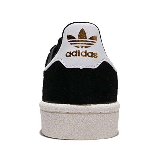 adidas Campus W, Zapatillas de Deporte Para Mujer Negro (Negbas/Ftwbla/Dormet 000)