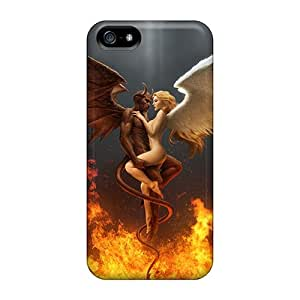 Hot Covers Cases For Iphone/ 5/5s Cases Covers Skin - Good And Evil