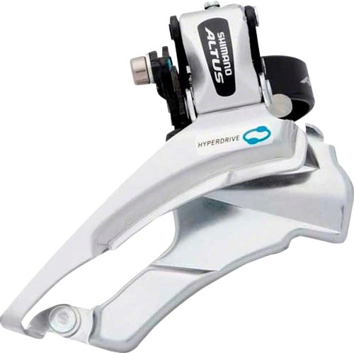 SHIMANO FD-M311 Aultus Front Derailleur (28.6-34.9-mm 3x7/8 Speed Hi-Clamp) by SHIMANO