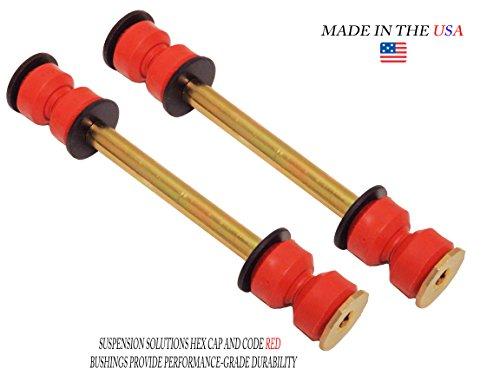 Front Bushings End - (2) Suspension Stabilizer Bar Links FOR SILVERADO, ESCALADE, TAHOE, SIERRA, YUKON, K700538, K700432