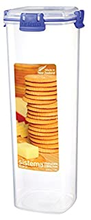 Sistema Klip It Collection Cracker Food Storage Container, Large, 60 Ounce/ 7.5 Cup (B005D6Y3RC) | Amazon price tracker / tracking, Amazon price history charts, Amazon price watches, Amazon price drop alerts