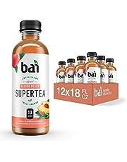 Bai Narino Peach Tea, 5 Calories, No Artificial Sweeteners, 1g Sugar, Antioxidant Infused Beverage(Pack of 12)