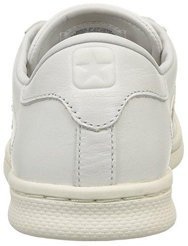 Converse Pro Leather Lp Ox, Zapatillas para Hombre Blanco (White Dust Monochrome)