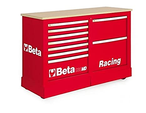 Beta 039390103 - C39Md-R-Cajonera Especial Móvil Red: Amazon ...