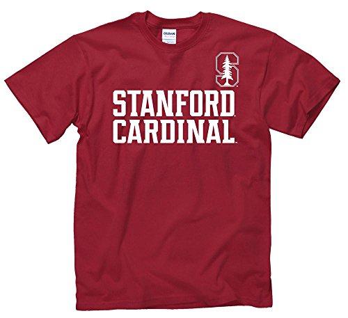 (Stanford Cardinal University Cardinal & Tree T- Shirt)
