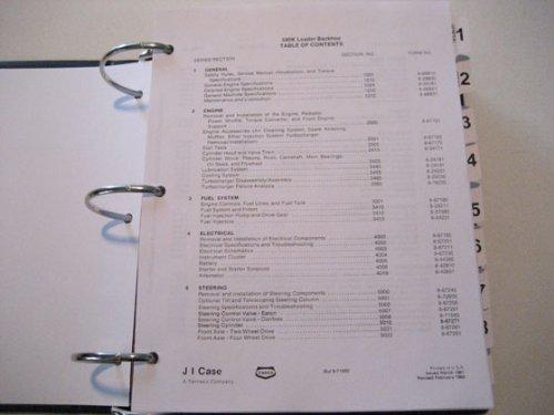 case 580k loader backhoe service manual phase 1 j i case amazon rh amazon com Case 580 Backhoe Manual Online Case 580 Backhoe Specs